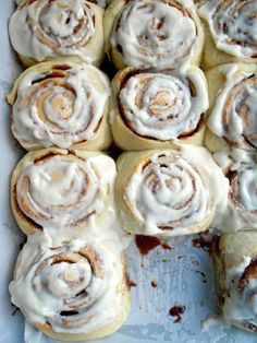 Culinary Couture: Homemade Cinnabon Cinnamon Rolls::The best homemade cinnamon rolls I've ever made. I don't ever need try another recipe!
