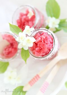 Granita is a Mediterranean frozen-fruit dessert. Similar tosorbet, but with a crystalline texture, it's one of the easiest Summer time desserts you can make.You can use any fresh ...