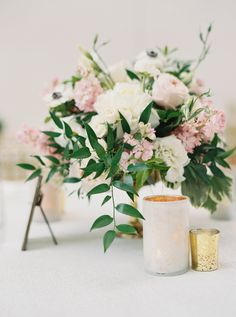 romantic garden florals paired with vitives | Photography: Kyle John