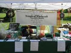 Vendor: Temple of Witchcraft Pagan Picnic 2013