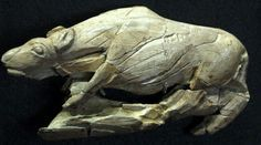 hyena from la Madeleine Cave (France), 17,000 years BP