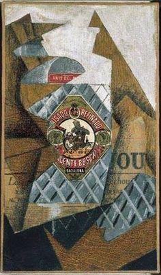 Art contemporani, La botella de Anís de Juan Gris, Cubismo