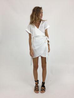 Sir The Label Abele Dress- White $220
