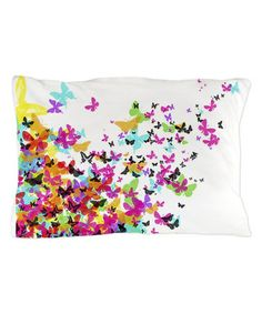 Another great find on #zulily! White Japanese Butterfly Pillowcase #zulilyfinds