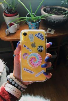 Girly Phone Cases, Diy Phone Case, Iphone Phone Cases, Iphone Case Covers, Tumblr Phone Case, Apple Mobile Phones, Aesthetic Phone Case, Diy Case, Cute Cases