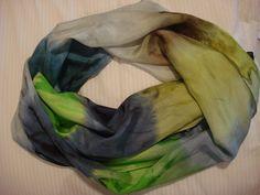 Echarpe de seda pura pongeé 8 R$117,00