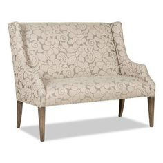 Sam Moore Avery Upholstered Bench Finish: Classic, Upholstery: 2708 Citron