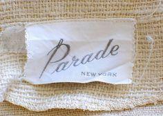 Classic vintage label. Love the edges