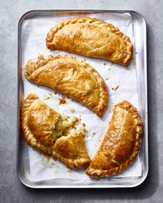 Cheese and onion pasties Cheese And Onion Pasty, Cornish Pasties, Homemade Chips, Picnic Foods, Picnic Recipes, Orange Recipes, Beef Bourguignon, Baked Beans, Pie Recipes
