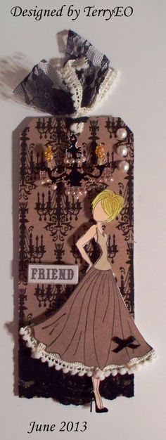 Prima Doll Tag #2 - Scrapbook.com
