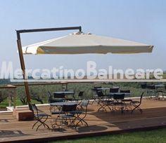 Ombrelloni professionali per spiaggia in alluminio  DA GIARDINO Q.TA' 4 EURO 750.00 CAD. - Mercatino Balneare ombrellone da giardino braccio laterale legno 3×3 prezzo stock cadauno + i.v.a. + trasporto Quantità:4 Prezzo €750.00+iva  https://www.mercatinobalneare.it/annuncio/ombrelloni-professionali-per-spiaggia-in-alluminio-da-giardino-q-ta-4-euro-750-00-cad/  #stabilimentobalneare #attrezzaturabalneare #attrezzaturabalneareusata #mercatinobalneare #attrezzatu