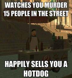 Video game logic. Lol.