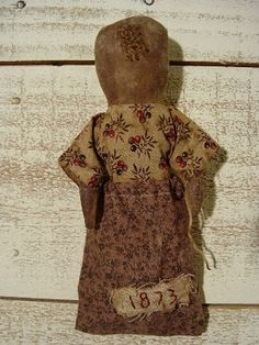 Seed Bag Doll~ Free Pattern