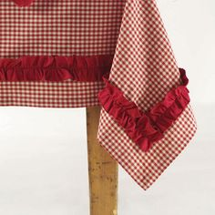 Amazon.com: Chalet Woodlands Gingham Tablecloth: Home & Kitchen