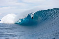 Say what you will about bodyboarders, but hey, you can't knock his commitment. Photo: Pompermayer