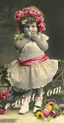 Vintage Just Plain Cute Children Image Detail