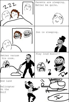 What My Parents Does When I'm Sleeping! - Posted in Funny, Troll comics and LOL Images - Entertain Club
