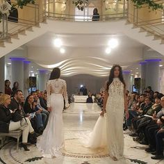 WOW! What an absolutely beautiful event yesterday in partner with @atelier_pantheon debuting #RikiDalal's new #MayfairCollection in #Italy • #weddinginspiration #weddingdress #weddinggown #bride