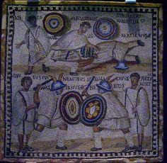 Mosaico de gladiadores | Flickr - Photo Sharing!