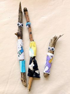 6  Kids' Crafts Inspired By Nature- Petit & Small