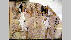 """From the """"Tomb of the Dancers"""", New Kingdom Dynasty 17 (1648-1550 B.C..."""