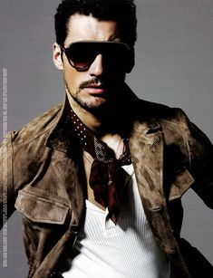 ShortList Mode. 70's gigolo. Model, David Gandy.