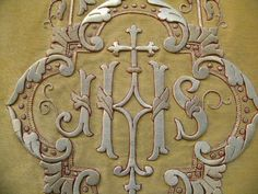 Chasuble 19th century (my collection)  Goldwork