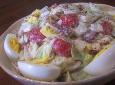 Bacon Lettuce AndTomato Layered Salad Recipe - Food.com: Food.com