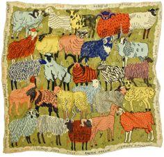 sheep scarf by caleb luke lin.