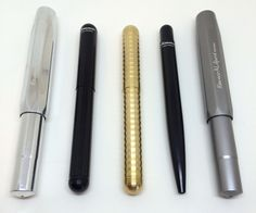 Kaweco Liliput Fountain Pen Brass Wave Body Review — The Pen Addict