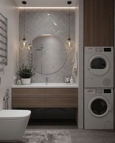 More than just a room, this will be your 5 options of laundry room layout ideas. Transitional, traditional, pet-friendly, and a couple more laundry room design ideas. Laundry Room Layouts, Laundry Room Design, Bathroom Layout, Modern Bathroom Design, Bathroom Interior Design, Interior Design Living Room, Bathroom Designs, Bathroom Renos, Master Bathroom
