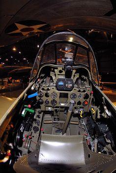 Mitsubishi Zero Cockpit