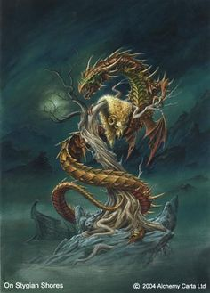 Read Colchian Dragon from the story Mythological Creatures by Emberzash (Rachel) with reads. This immense serpent, a child of Typ. Fantasy Images, Fantasy Art, Aries, Chromatic Dragon, Snake Wallpaper, Alchemy Art, Dragon Artwork, Water Dragon, Mythological Creatures