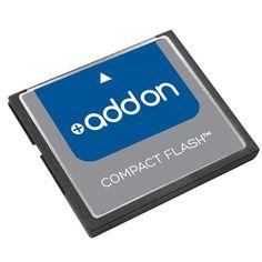 AddOn Factory Approved 256MB CompactFlash card F/Cisco #MEM2800-256CF-AO