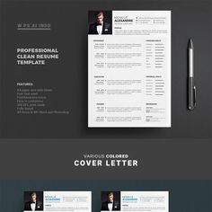 This Modern & Creative Resume Template has been made especially for those who want to get a job to change their career & increase chances of being called for an interview.  #careeradvice #cv #jobsearch #resumetemplate #coverletterdesign #coverlettertemplate  https://www.templatemonster.com/resumes/professional-resume-cv-resume-template-67682.html