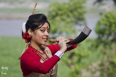 Assamese woman