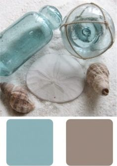 coastal colors @ Home Design Ideas. Love the color palette Coastal Colors, Coastal Style, Coastal Living, Coastal Decor, Coastal Curtains, Coastal Cottage, Coastal Entryway, Beachy Colors, Coastal Farmhouse