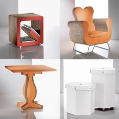 Kubedesign - cardboard furniture