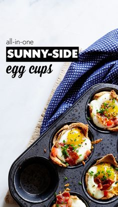 Superfast Kid-Friendly Recipes: Egg and Toast Cups Recipe | CookingLight.com