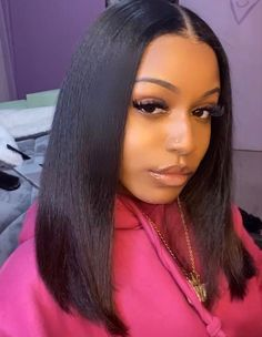 Weave Hairstyles, Cute Hairstyles, Straight Hairstyles, Short Hair Wigs, Human Hair Wigs, Hair Inspo, Hair Inspiration, Curly Hair Styles, Natural Hair Styles