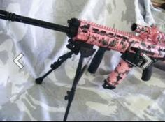 Country Girls With Guns | Pink camo gun | What A Country Girl Needs :) I have shot one of those it was awesome.