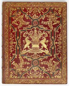 Boekband uit het archief van de Familie Van Borssele van der Hooge, inv.nr 145a