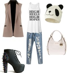 """Less is more"" by valentinajoanna on Polyvore"