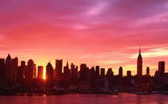 Sunrise. New-York.