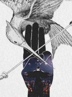 YOU ARE THE MOCKINGJAY