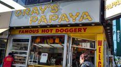 Gray's Papaya - Upper West Side - New York, NY | Yelp