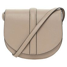 Buy Warehouse Saddle Bag, Stone Online at johnlewis.com