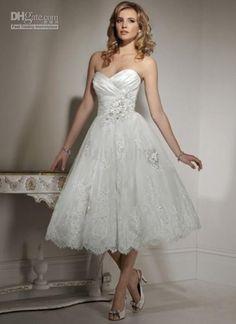 Short dress. I'm 5 foot anyway..