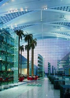 The Kempinski Hotel Munich Airport, Germany  / Designed by Chicago architect Helmut Jahn.  http://www.chicagocorporatelimo.com/    phone No-:  (855) 782-1212