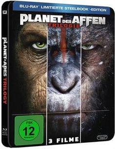 Planet der Affen Trilogie (Steelbook)